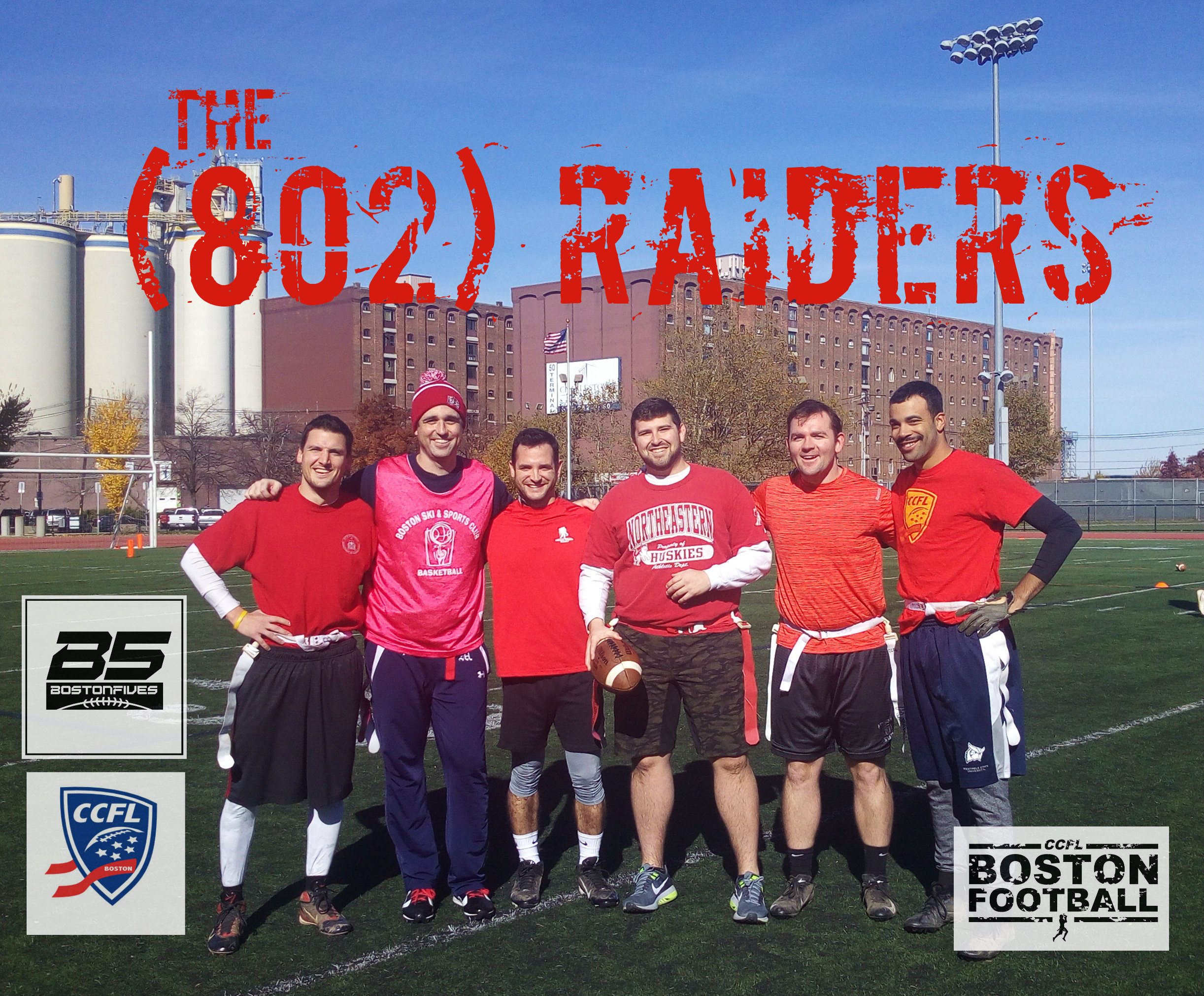 THE (802) RAIDERS